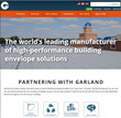 The Garland Company launches a re-tooled website to serve as a hub for industry users and a simple reference for customers