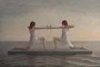 David Molteni, Untitled, oil on linen, 29 x 43 inches