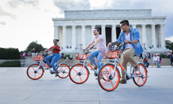 Mobike launches in Washington D.C.