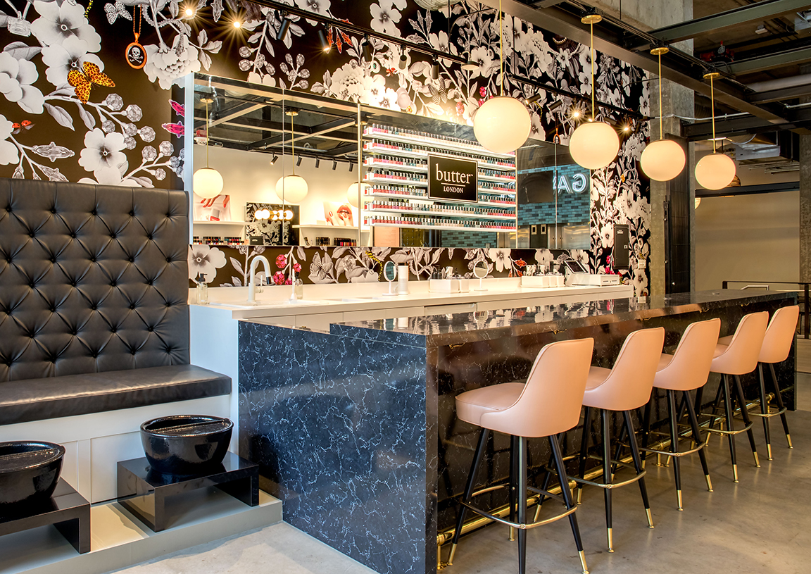 Butter london opens new flagship nail bar in seattle - Nail salons in london ...