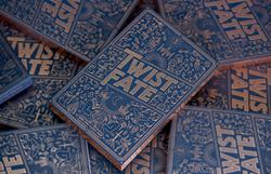 "stack of ""Twist Fate"" books"