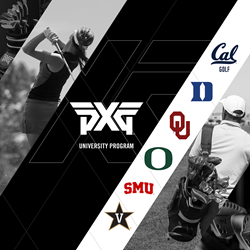 Cal Golf, Duke University, The University of Oklahoma, The University of Oregon, Southern Methodist University and Vanderbilt University are among the programs that have penned deals with PXG thus far.