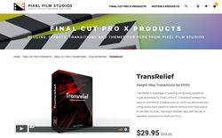 FCPX Effects - TransRelief - PFS Plugins