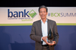 Charles Liu, Chief of Branch Transformation, ATM Innovation, and Market Planning at Bank of America, accepted the award for Best Branch Experience (large bank).