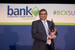 Epili, President at FSS, accepted the award for Best Mobile Experience (international fintech) for FSS Aadhaar Pay.