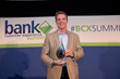 Mike Branton, Managing Partner at StrategyCorps, accepted the award for Best Mobile Experience (US fintech) for StrategyCorps' BaZing.