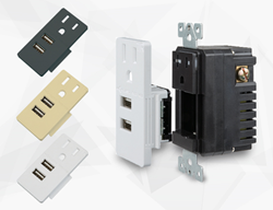 high speed interchangeable usb receptacle