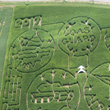 Super Heroes Tribute Honors US Armed Forces, a Carved Military-Themed Colossal Corn Maze at Multi-Generational Maryland Farm