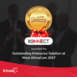 Kirusa Wins the West Africa Com Award For Outstanding Enterprise Solution 2017