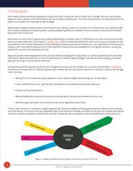 Screen shot of Use Error Analysis white paper