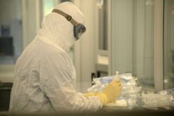 Compounding medications in a clean room
