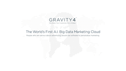 Gravity4: The World's First A.I. Big Data Marketing Cloud