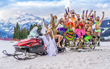 NEWS RELEASE The biggest 'snowmosexual' LGBT wintersports and music festival returns to Les Menuires for its tenth anniversary