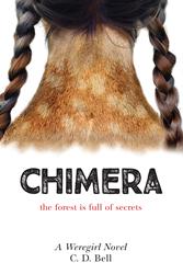 weregirl, chimera, c.d. bell, c d bell, cdbell, chooseco, YA trilogy, werewolf, book