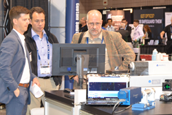 The SPIE Optifab exhibition draws keen interest from throughout the global optical manufacturing community.