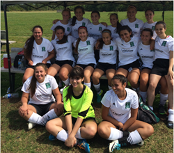 Richmond Hill Soccer Club Girls Team