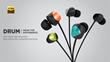 TUNAI Announced DRUM - High-Resolution Bass Enhanced Audiophile Earphone