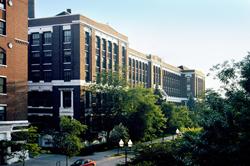 Historic former Sears, Roebuck & Company headquarters in Chicago's Homan Square neighborhood
