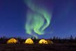 Arctic glamping on the Barren Lands. Jad Davenport photo.