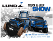 """Lund International Truck & Jeep Show"" Series to Debut on Velocity October 1st"