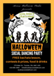 Access Ballroom Studio's Halloween Social Dance Party Flyer