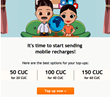 End of September Brings a New Cubacel Offer for HablaCuba.Com Customers: Up to 90 CUC Bonus for International Top Ups to Cuba