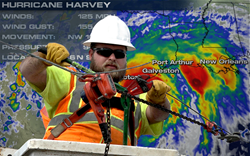 Fiber Optic Repairs After Harvey