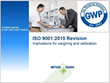 ISO 9001:2015 Revision