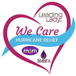 Leading Lady Partners with Humanitarian Groups to Support Hurricane Relief Efforts with a Donation of Bras and Clothing to Women in Isolated Shelters