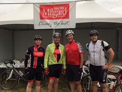 Milgard Bike MS Rider Team