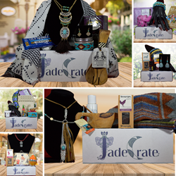 JadeCrate Bohemian and Vintage Styled Monthly Subscription Box