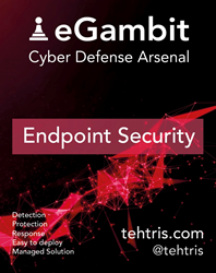 "The innovative cybersecurity solution called ""eGambit"", designed by TEHTRIS, is part of the world's Top 10 Endpoint Security"