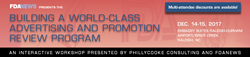 Advertising and Promotion Dec 2017