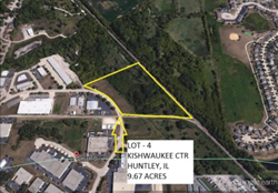 Commercial Development Site in Huntley, IL