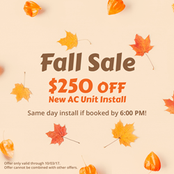 All Year Cooling Fall Coupon