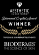 Biodermis Named Top Scar & Skin Repair Treatment by Aesthetic Everything®