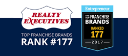 Realty Executives 2017 Top Franchise Brands ranking