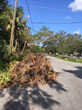 Example of Debris 14 days after Hurricane Irma