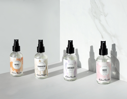 Hydrosols include Frankincense, Lavender, Neroli, Peppermint, Rose, Rosemary and Sandalwood