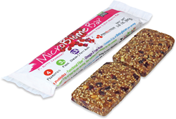 The world's first gut health bar with 4 prebiotic fibers.