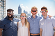 Chief Customer Officer, Greg Collins, with SalesLoft customers at our Solar Eclipse Viewing Party.