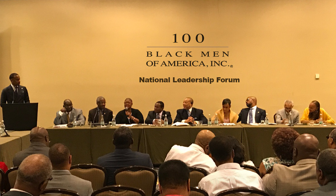 Editorial Education Is Civil Right >> 100 Black Men of America, Inc. Installs Board Officers And ...