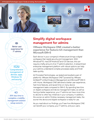 See how organizations can create a better experience for feature-rich device and workspace management