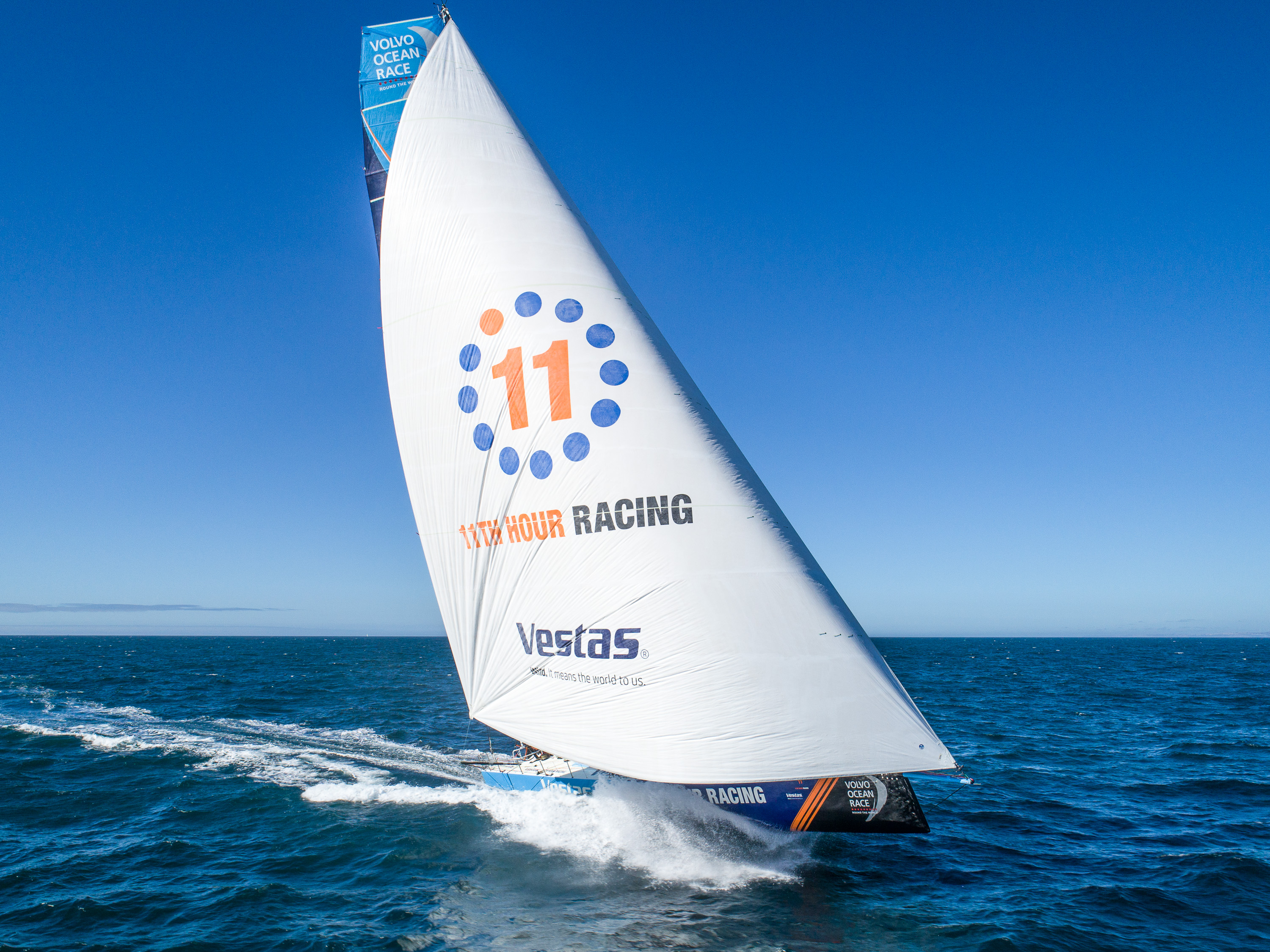 Bluewater And Vestas 11th Hour Racing Partner to Ensure Pristine