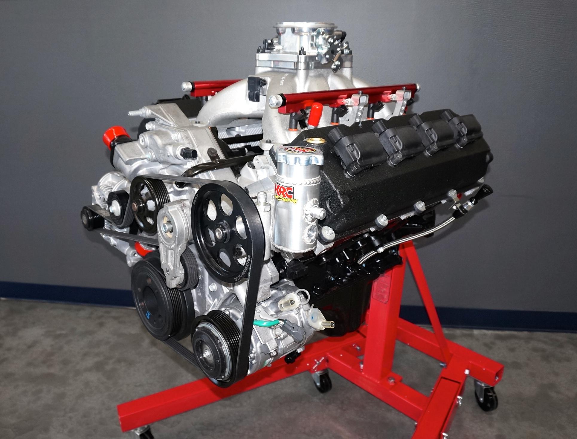 Dsc on 426 Hemi Crate Engine
