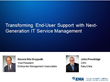 EMA to Host Webinar on Transforming End-User Support with IT Service Management (ITSM)