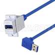 USB 3.0 ECF-Style Panel Mount USB Adapter Cables