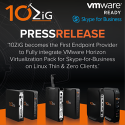 Skype for Business on Linux 10ZiG Thin and Zero Clients