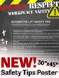 Stertil-Koni to Support New Automotive Lift Institute (ALI) Safety Tips Poster Sales with 50% Discount on First 100 in Association with National Lift Week® Oct. 2-7