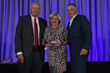 Janet Harris, CFE, presented with the Franchising Gives Back Award.